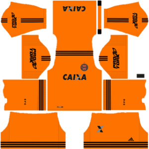 Coritiba FC DLS 2017-2018 Goalkeeper Away Kit