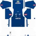 Cruzeiro EC Kits 2017/2018 Dream League Soccer
