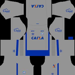EC Bahia DLS 2017-2018 Goalkeeper Away Kit