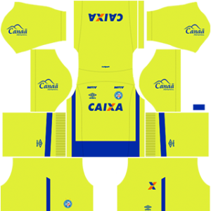 EC Bahia DLS 2017-2018 Goalkeeper Home Kit