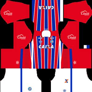 EC Bahia Kits 2017-2018 Dream League Soccer