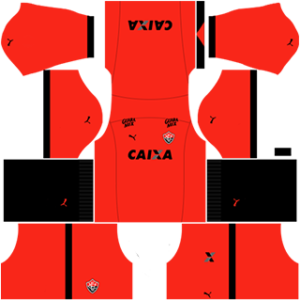 EC Vitoria DLS 2017-2018 Goalkeeper Away Kit
