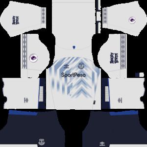 everton third kit 2018-2019 dream league soccer