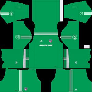 FC Dallas DLS 2017-2018 Goalkeeper Away Kit