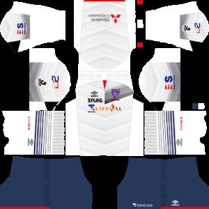 FC Tokyo away kit 2017-2018 dream league soccer