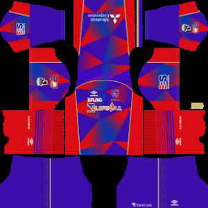 FC Tokyo Kits 2017/2018 Dream League Soccer