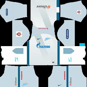 FC Zenit Saint Petersburg DLS 2017-2018 Away Kit