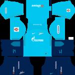 FC Zenit Saint Petersburg Kits 2017/2018 Dream League Soccer