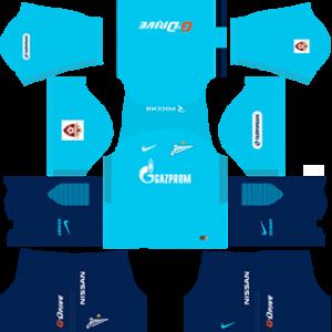 FC Zenit Saint Petersburg Kits 2017-2018 Dream League Soccer