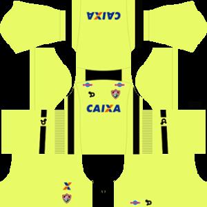 Fluminense FC DLS 2017-2018 Goalkeeper Kit