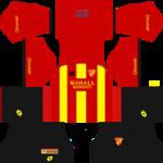 Goztepe S.K. Kits 2017/2018 Dream League Soccer
