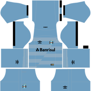 Gremio FBPA DLS 2017-2018 Away Kit