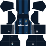 Gremio FBPA Kits 2017-2018 Dream League Soccer