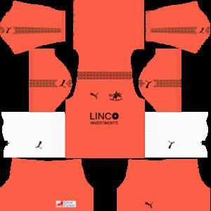 Home United DLS 2017-2018 Goalkeeper Away Kit