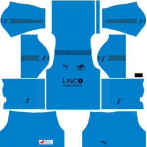 Home United DLS 2017-2018 Goalkeeper Home Kit