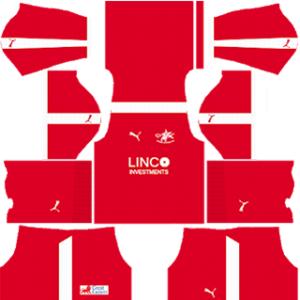 Home United FC Kits 2017-2018 Dream League Soccer