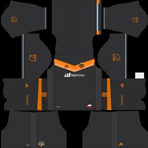 Houston Dynamo DLS 2017-2018 Away Kit