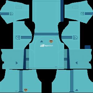 Houston Dynamo DLS 2017-2018 Goalkeeper Away Kit