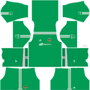 Houston Dynamo DLS 2017-2018 Goalkeeper Home Kit