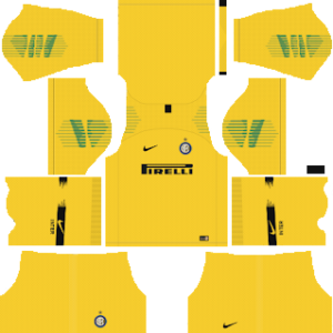 inter milan goalkeeper away kit 2018-2019 dream league soccer