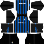 Inter Milan Kits 2018/2019 Dream League Soccer