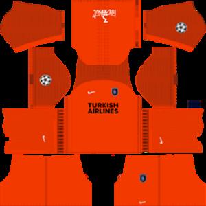 Istanbul Basaksehir F.K. Kits 2017-2018 Dream League Soccer