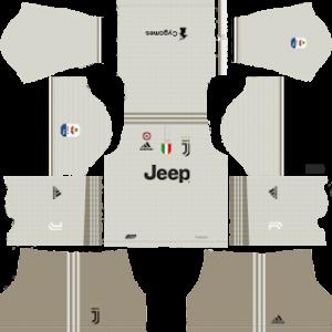 juventus away kit 2018-2019 dream league soccer