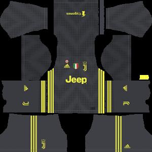 juventus third kit 2018-2019 dream league soccer