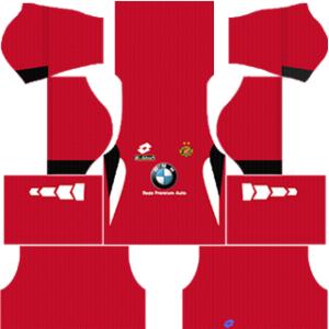 Kelantan Kits 2014-2015 Dream League Soccer