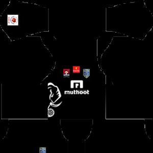 Kerala Blaster DLS 2016-2017 Away Kit