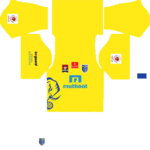 Kerala Blasters Kits 2016/2017 Dream League Soccer