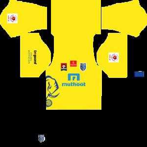 Kerala Blasters Kits 2016-2017 Dream League Soccer