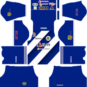 Kuala Lumpur FA away kit 2018-2019 dream league soccer