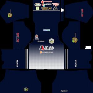 Kuala Lumpur FA goalkeeper home kit 2018-2019 dream league soccer