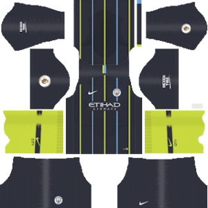 manchester city away kit 2018-2019 dream league soccer