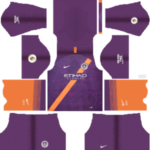 manchester city third kit 2018-2019 dream league soccer