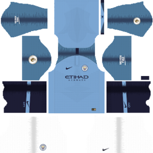 Manchester City Kits 2018/2019 Dream League Soccer