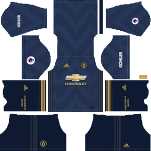 manchester united third kit 2018-2019 dream league soccer