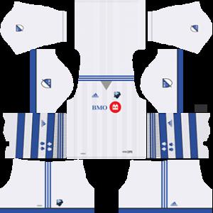 Montreal Impact DLS 2017-2018 Away Kit