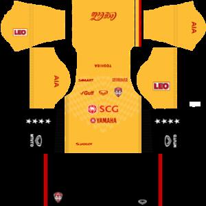 Muangthong United away kit 2017-2018 dream league soccer