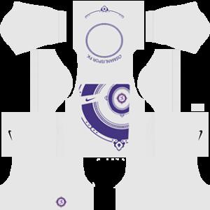 Osmanlispor DLS 2017-2018 Goalkeeper Away Kit