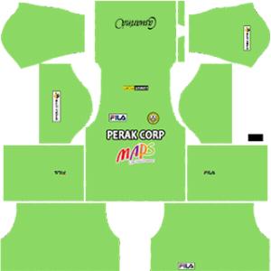 PKNP FC DLS 2017-2018 Goalkeeper Away Kit