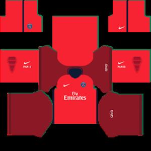 Paris Saint-Germain (PSG) 2015-2016 DLS Away Kit