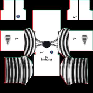Paris Saint-Germain (PSG) 2015-2016 DLS Goalkeeper Away Kit
