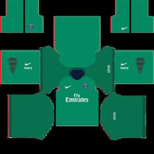 Paris Saint-Germain (PSG) 2015-2016 DLS Goalkeeper Home Kit