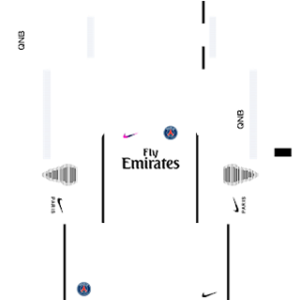Paris Saint-Germain (PSG) 2016-2017 DLS Third Kit