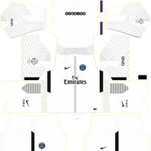 Paris Saint-Germain (PSG) DLS 2017-2018 Goalkeeper Away Kit