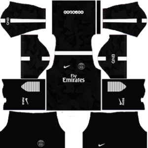 Paris Saint-Germain (PSG) DLS 2017-2018 Third Kit