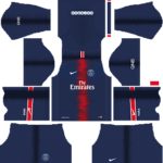 Paris Saint-Germain (PSG) Kits 2018/2019 Dream League Soccer