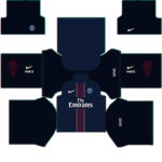 Paris Saint-Germain (PSG) Kits 2015-2016 Dream League Soccer